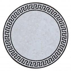 Table mosaïque style grec